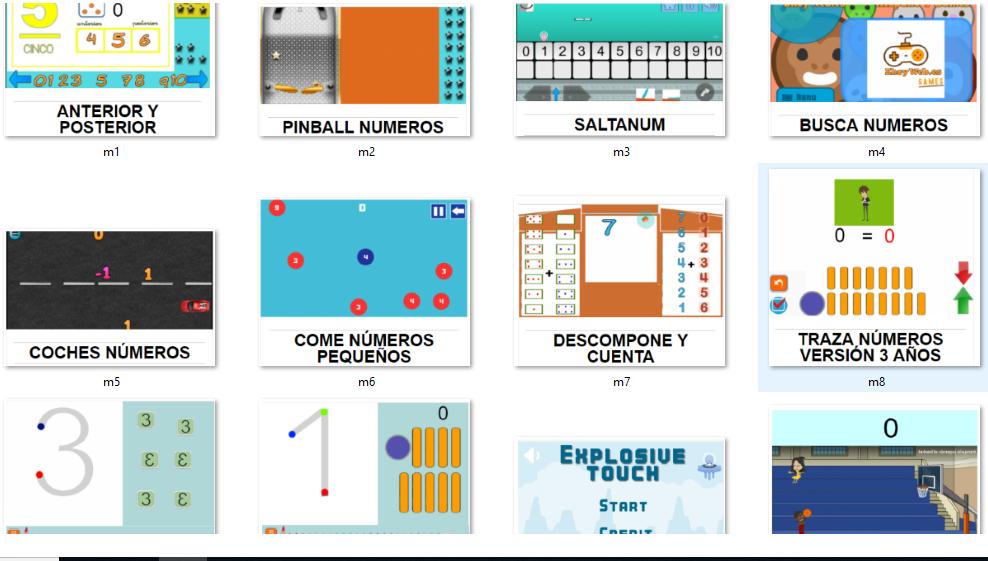 juegos de  lógico matemáticas