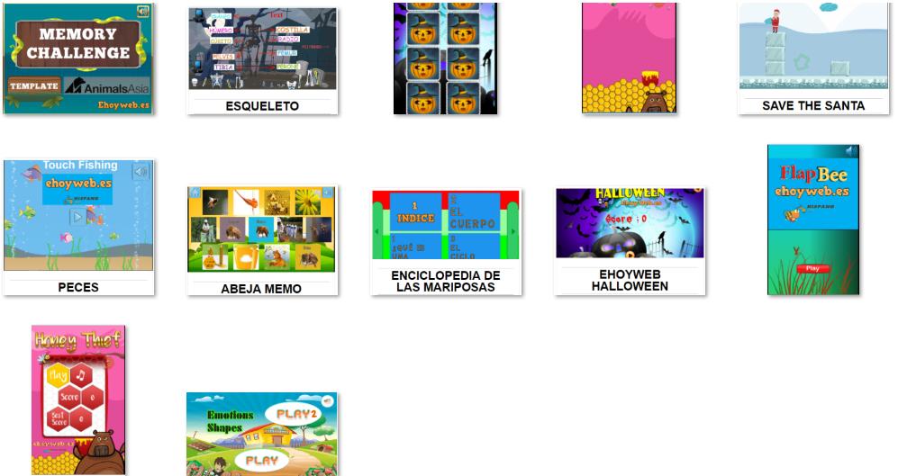 juegos para proyectos infantiles